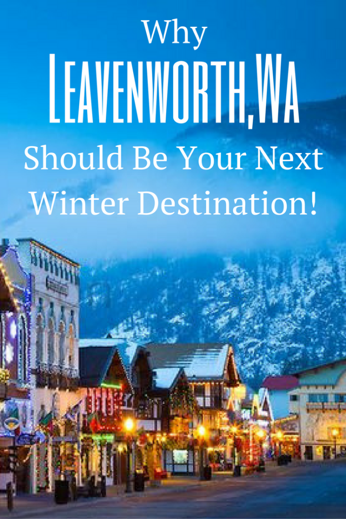 Leavenworth. A hidden town in central Washington-state, built to look like an old German town, and in the winter transforms into the ideal Christmas town!