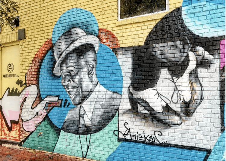 Richmond VA Street Art Aneikan Jazz Art