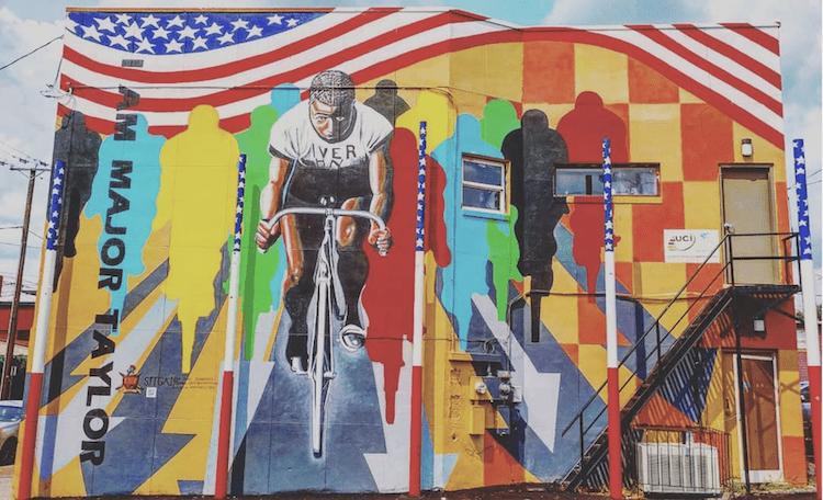 Richmond VA Street Art Cycling
