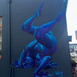 RVA Mural Project Street Art | Packs Light | Breakdancing Oil Paint