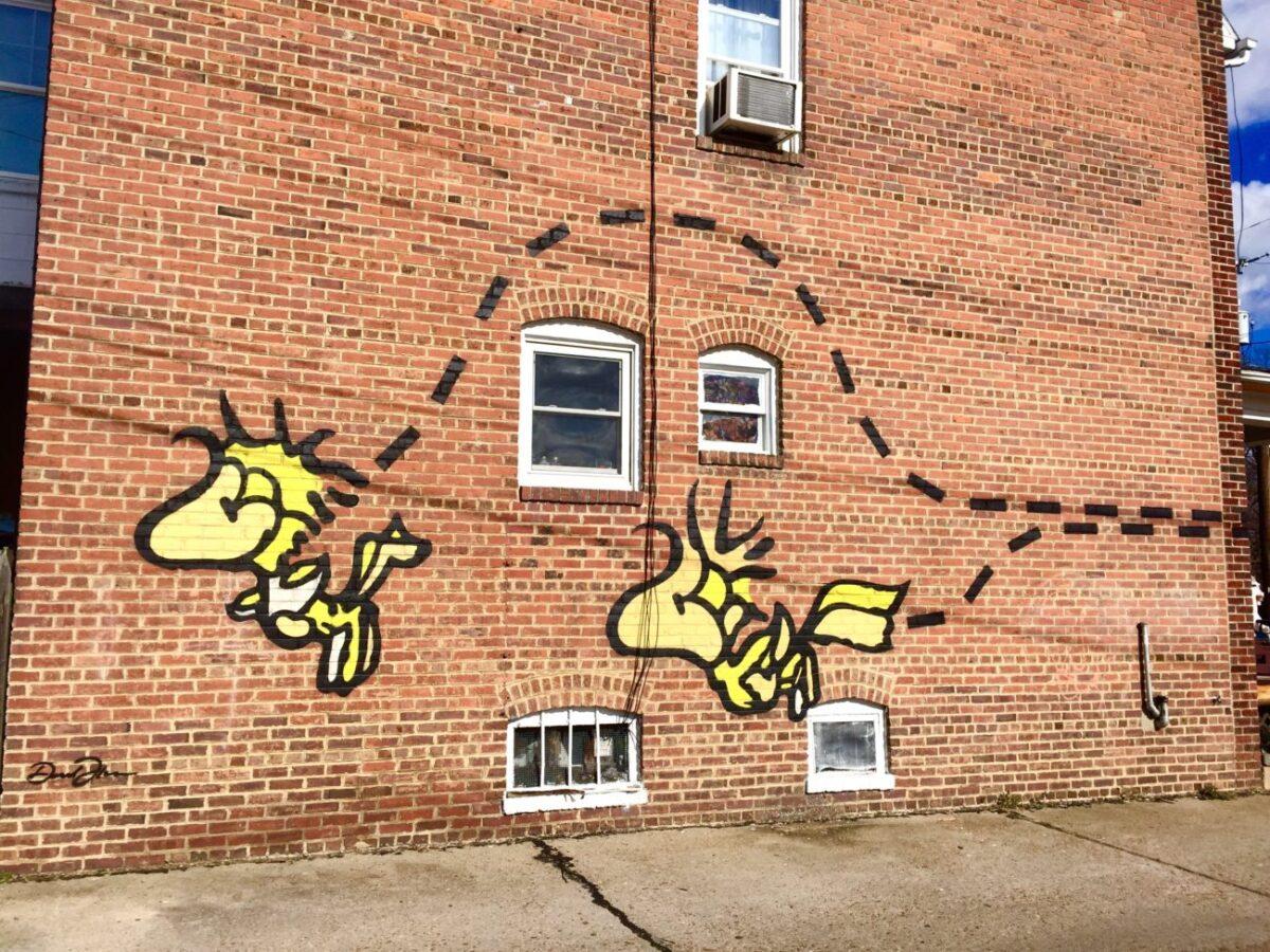 RVA Mural Project Street Art  Packs Light