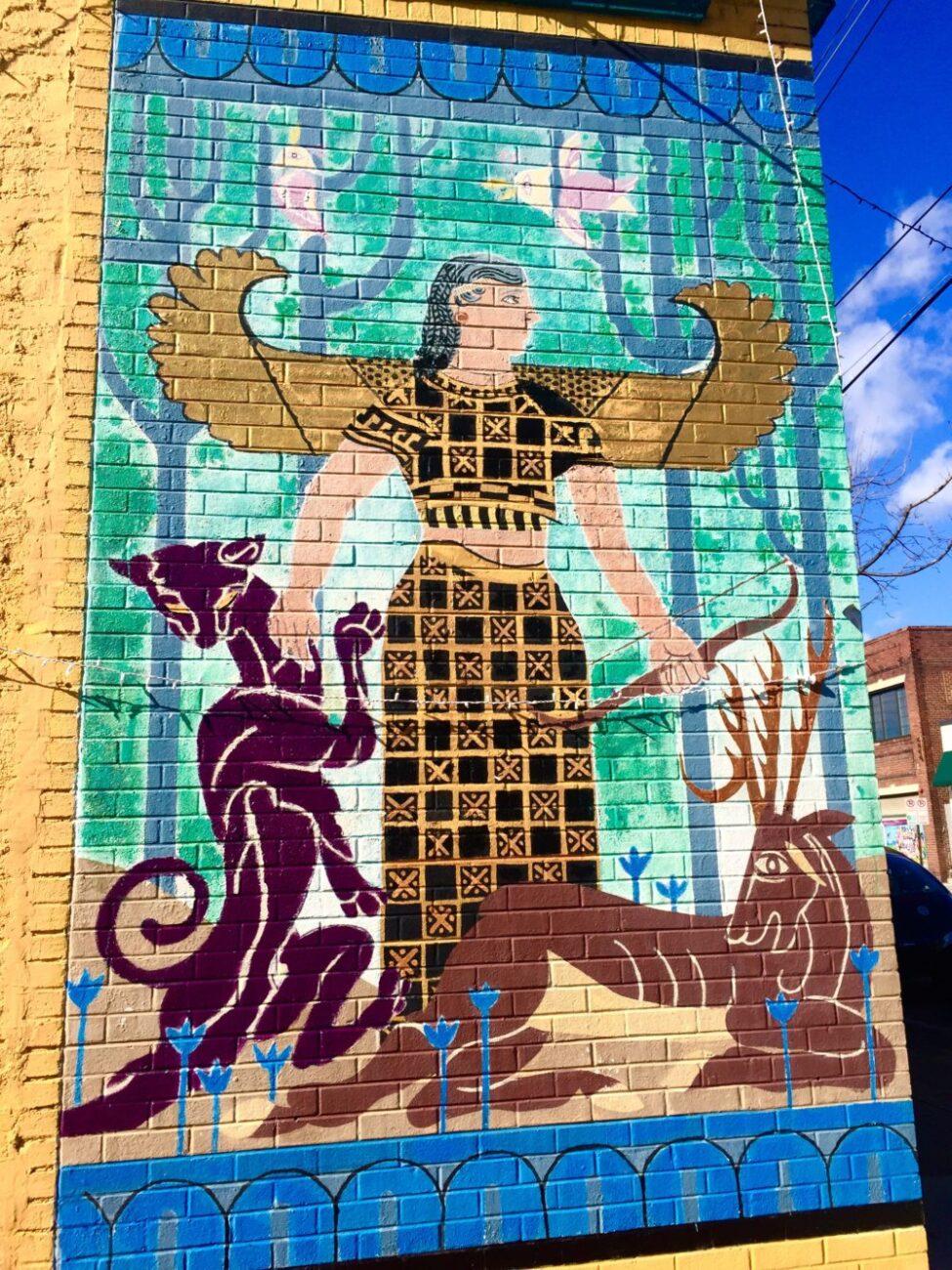 RVA Mural Project Street Art| Packs Light