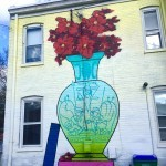 RVA Mural Project Street Art | Packs Light | Vase