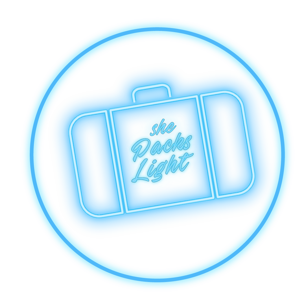 Blue Logo Circle Packs Light