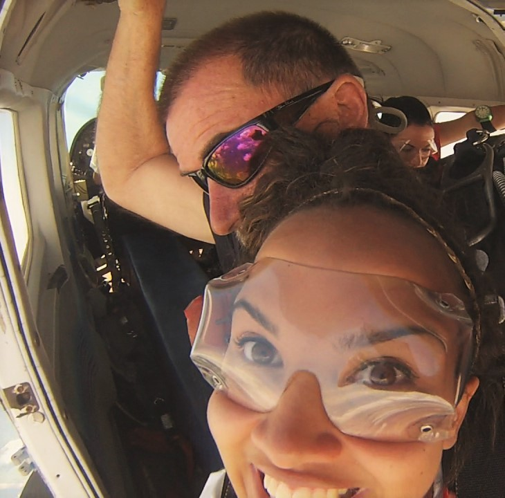 Skydiving in AU