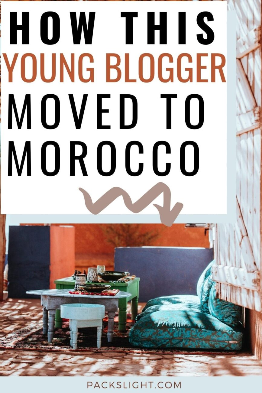 Monika is 25 years old and is originally is from Poland, and moved Morocco to pursue a life of adventure! Learn more about this young traveler's story!