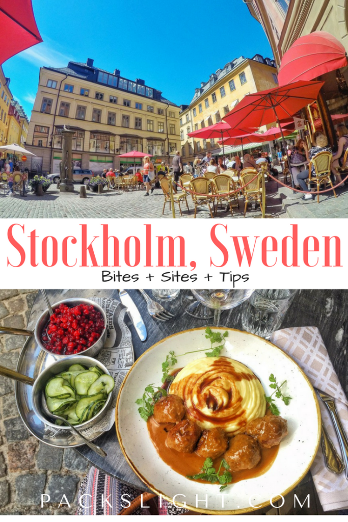 Stockholm Sweden | Packs Light