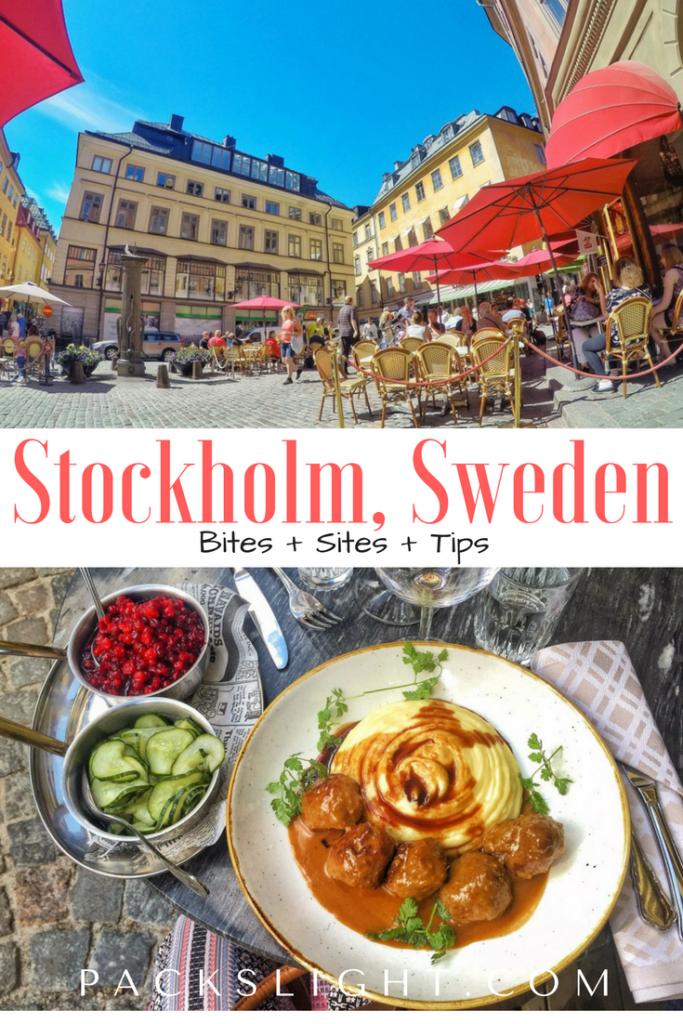Stockholm Sweden | Packs Light