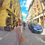 Stockholm Sweden Packs Light Gamla Stan