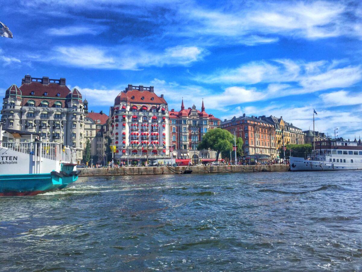 Boat Tour Gamla Stan Stockholm Sweden