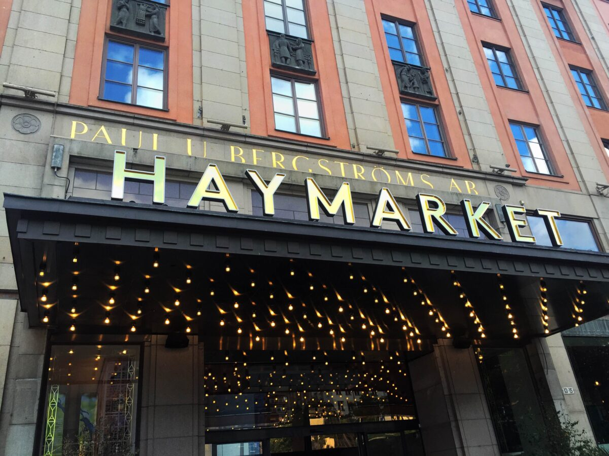 Haymarket Hotel TBEX Stockholm Sweden | Packs Light