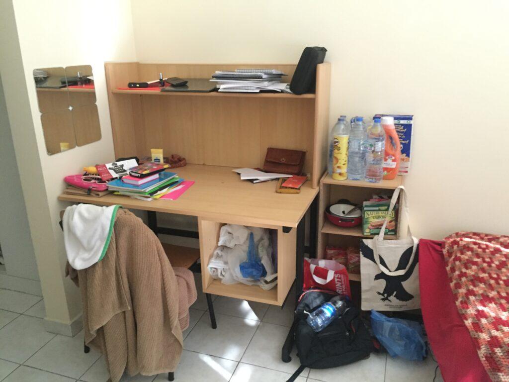 AUD Dorm Desk | Packs Light