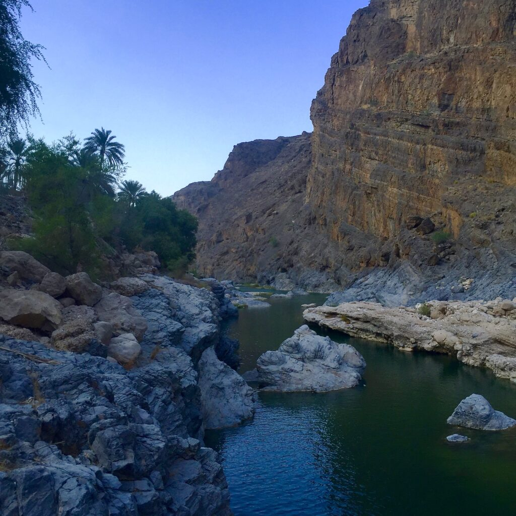 Oman Wadi Arbaeen   Packs Light