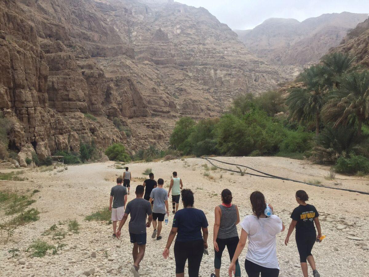 Wadi Shab Walking | Packs Light