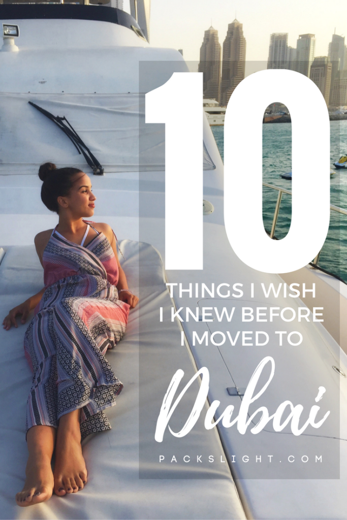 10 things about living/visiting Dubai, UAE that every traveler will WANT to know before you go! #Dubai #WhattowearinDubai #Dubai2019 #womendressinDubai #dubaiexpat