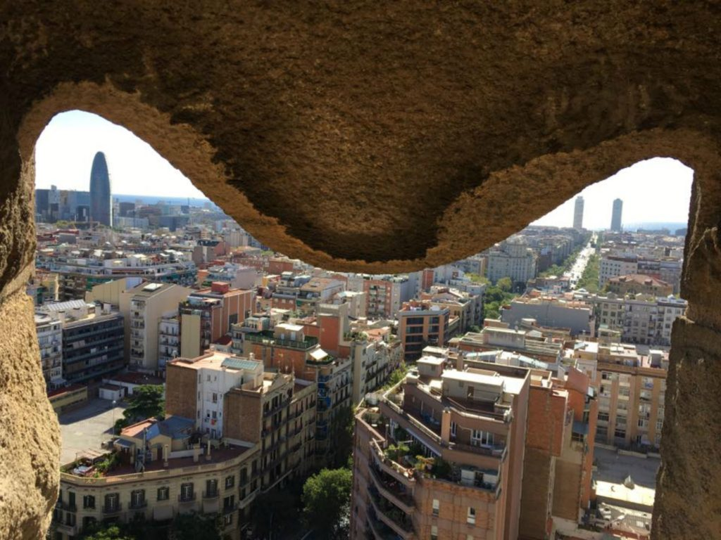 MOTM Jessica - Barcelona from the Sagrada Familia