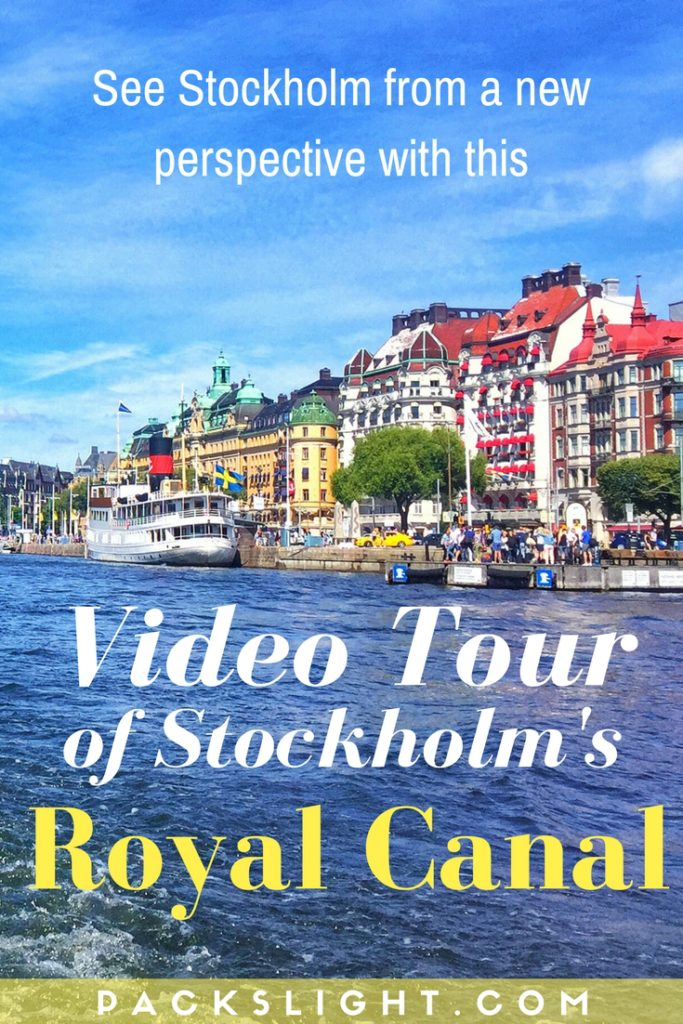 A video-tour through Stockholm's Royal Canal and archipelago on a gorgeous July afternoon. A unique view of this European city, only seen from the water! #Stockholm #Europe #Video