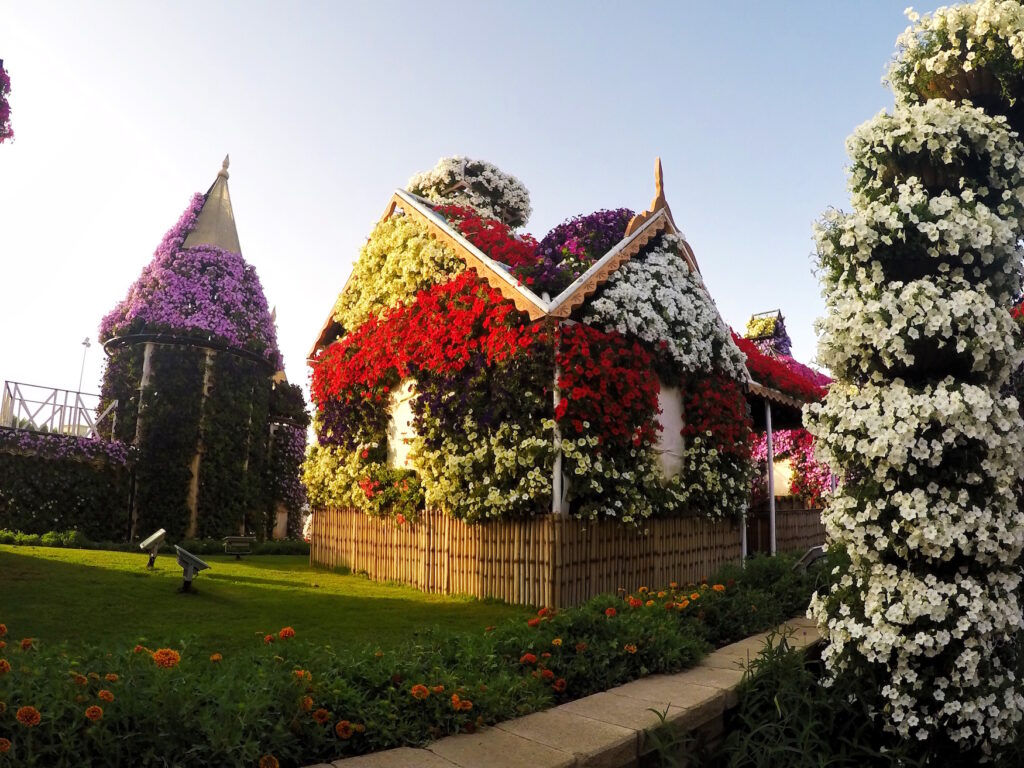 Flower House Miracle Gardens | Packs Light