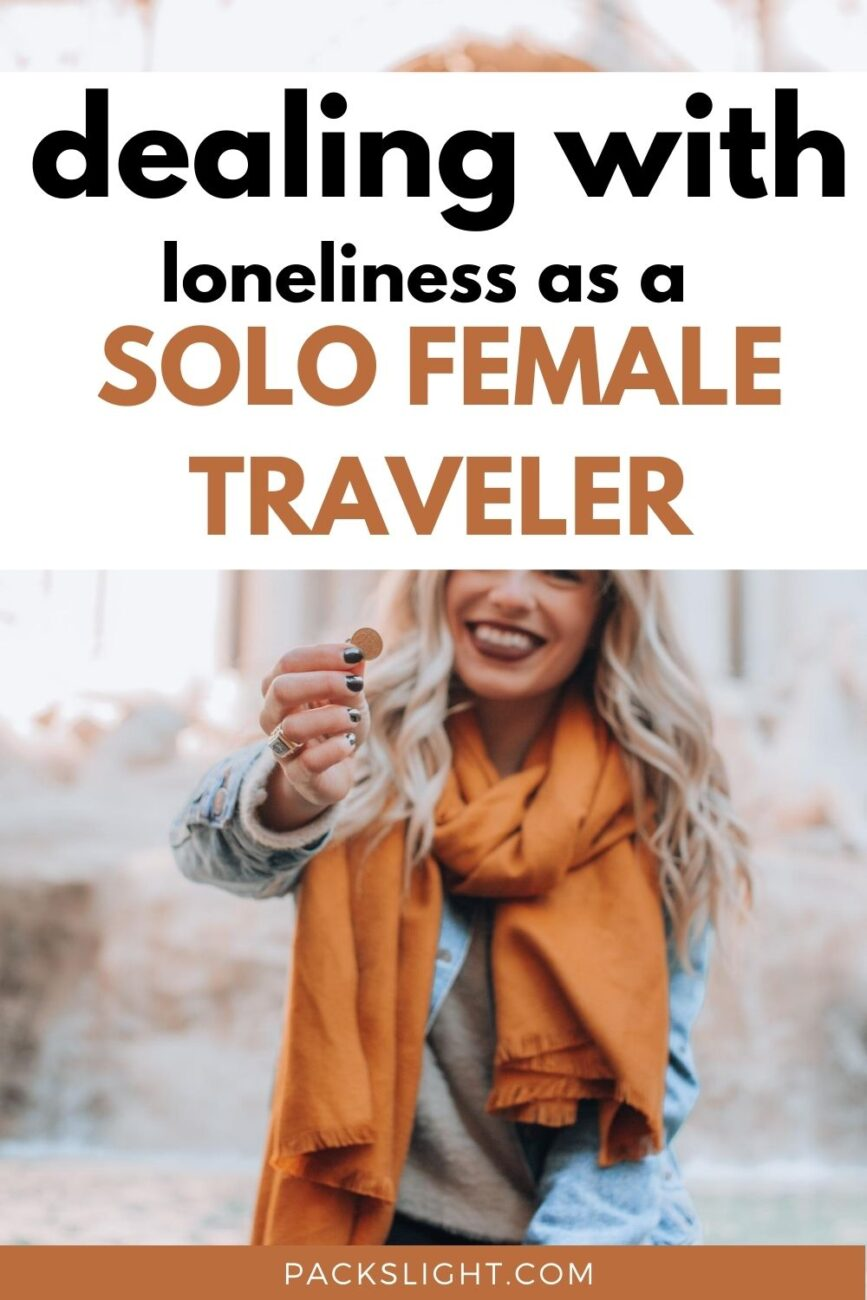 Danielle, 23, shares her experience with young, single female travel and how she beats the loneliness of solo-travel.