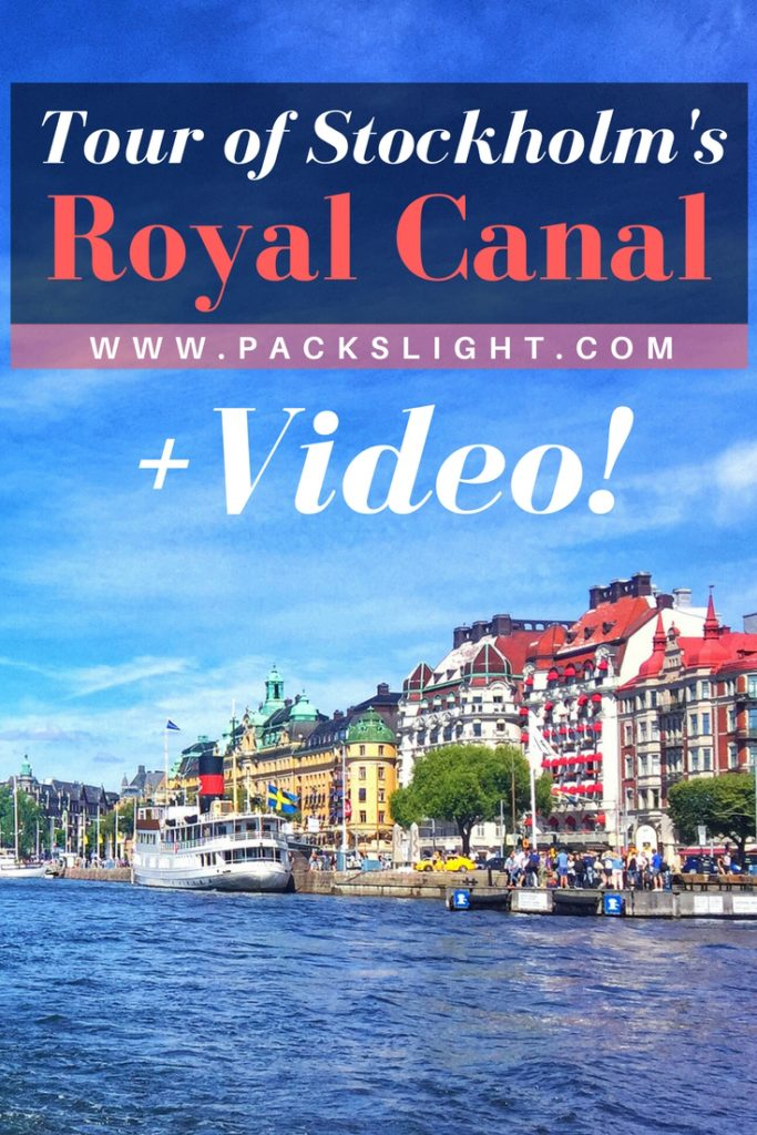 A video-tour through Stockholm's Royal Canal and archipelago on a gorgeous July afternoon. A unique view of this European city, only seen from the water! #Stockholm #Video #Europe