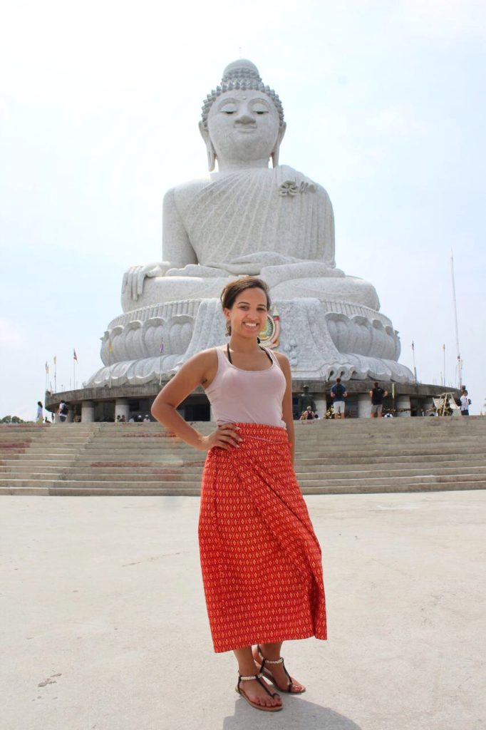 Me at Big Buddha | Thailand, Spring Break