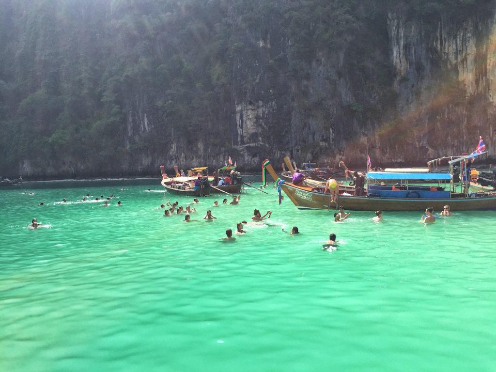 Ko Phi Phi Leh  Swimming  Thailand