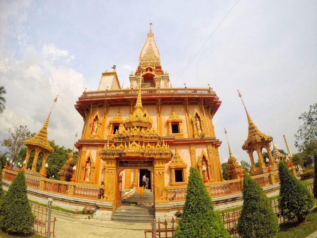 Outside of Temple   Thailand, Spring Break