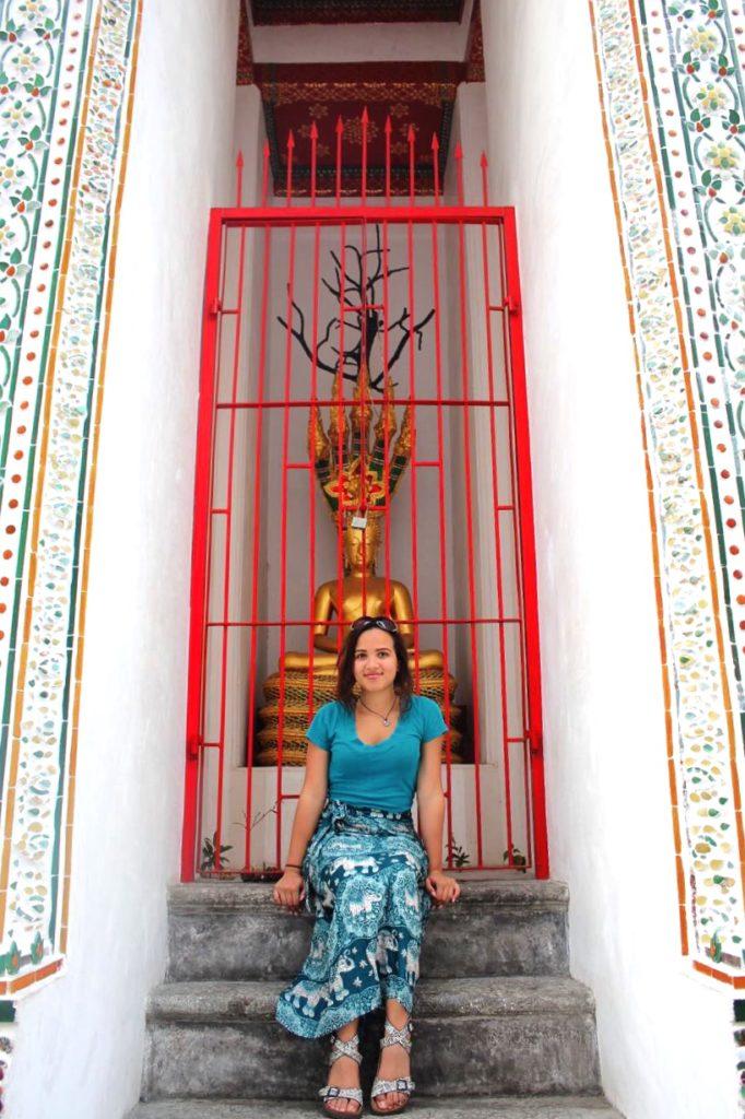 Me at Wat Arun 2  Thailand, Spring Break