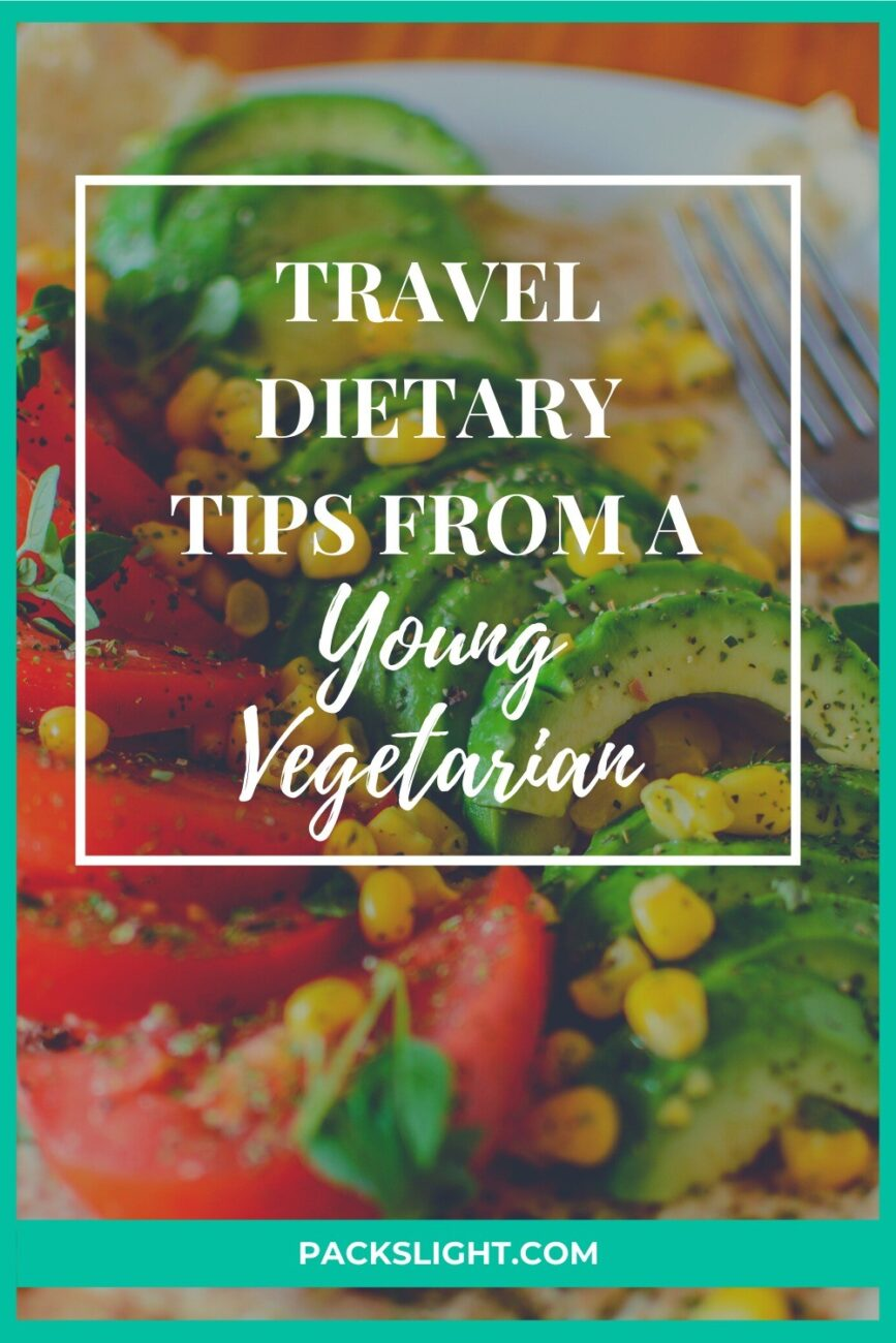 Interview with Jessica, 25, a vegetarian traveler. Learn how her vegetarian dietary habits affect her travels as a young, travel addict!