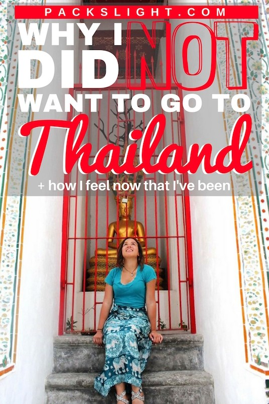 "When I heard that my friend's wanted to go to Thailand, my first thought was, ""...WHY?"". See why I had no desire at all to see the country, and what I think after my time there."
