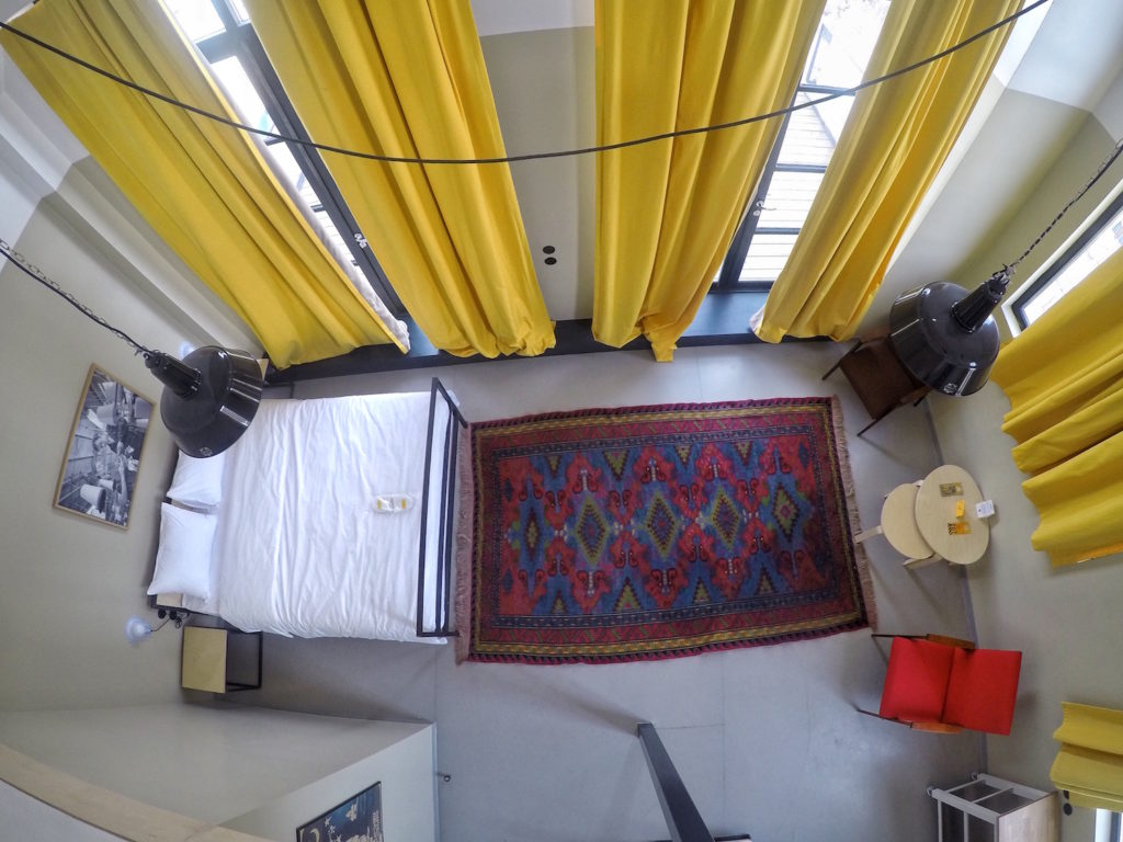 Aerial View of Suite - Fabrika Hostel Tbilisi   Packs Light