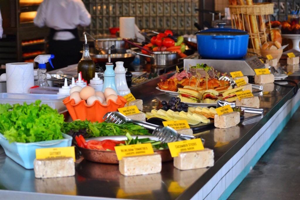 Breakfast Foods - Fabrika Hostel Tbilisi   Packs Light