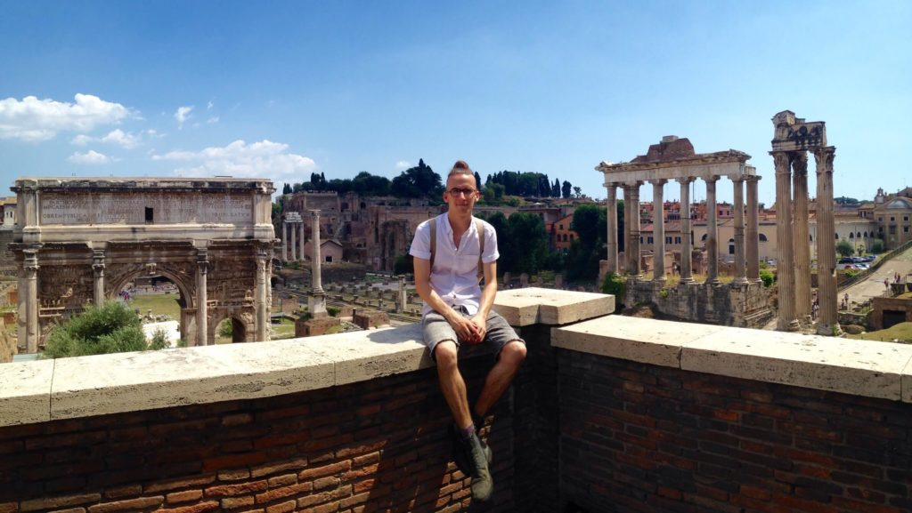MOTM Dave W | Roman Forum | Millennial Travel