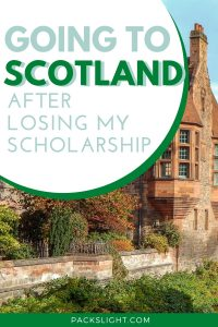 Young traveler Dann won a huge scholarship to study abroad in Scotland ... and then lost it. However, she decided to see the world in other ways!