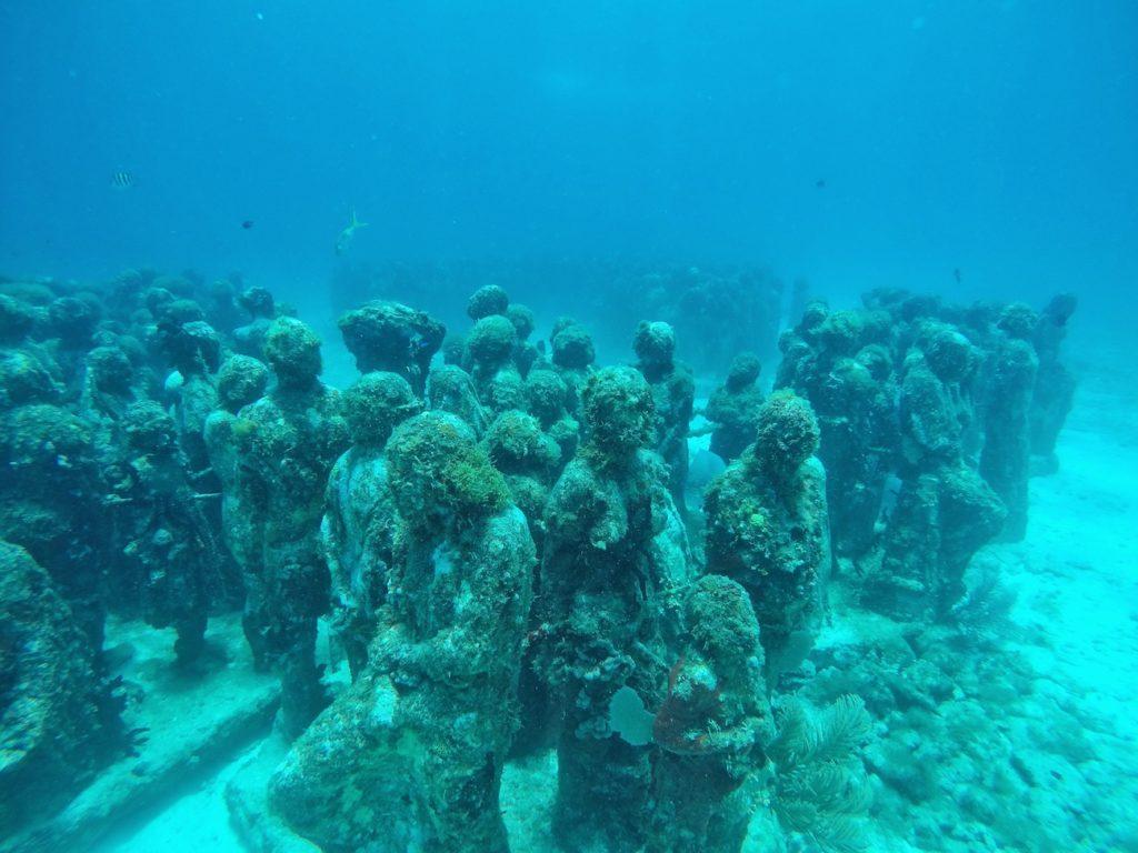 MUSA Underwater Museum Cancun | Packs Light