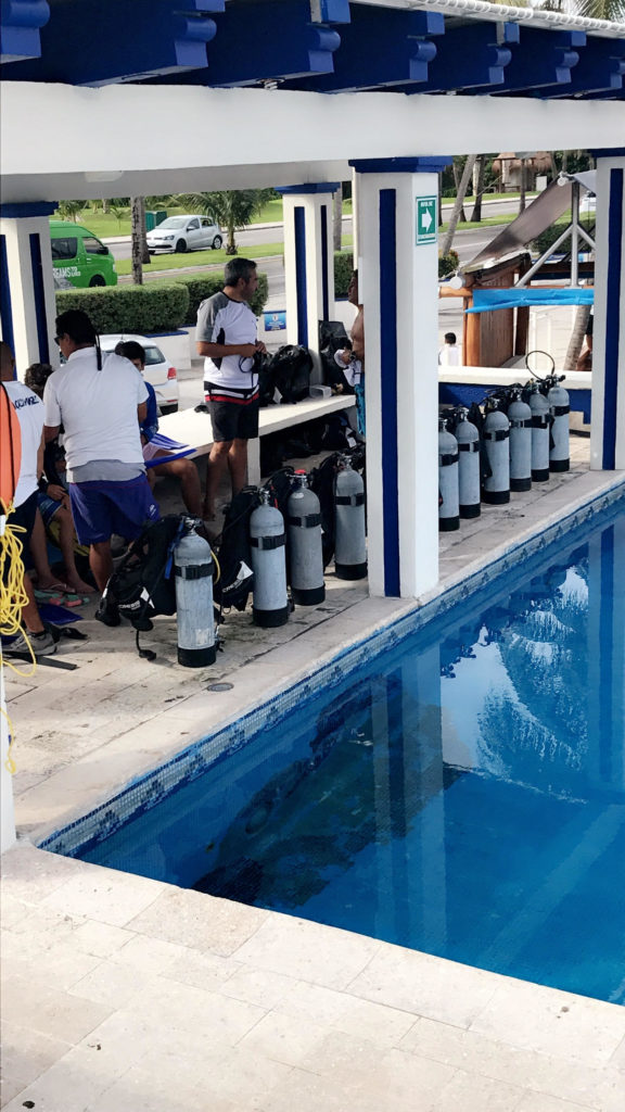 Scuba Diving, Underwater Museum, MUSA, Cancun