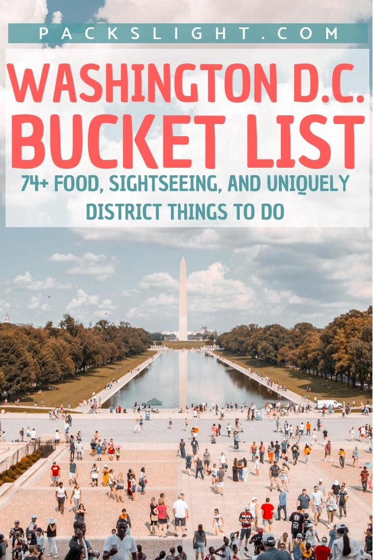 Compiled by a DMV local, take this free pdf download on your trip to the capital for ideas & tips to experience #WashingtonDC at it's best. #ThingstodoinDC #DC