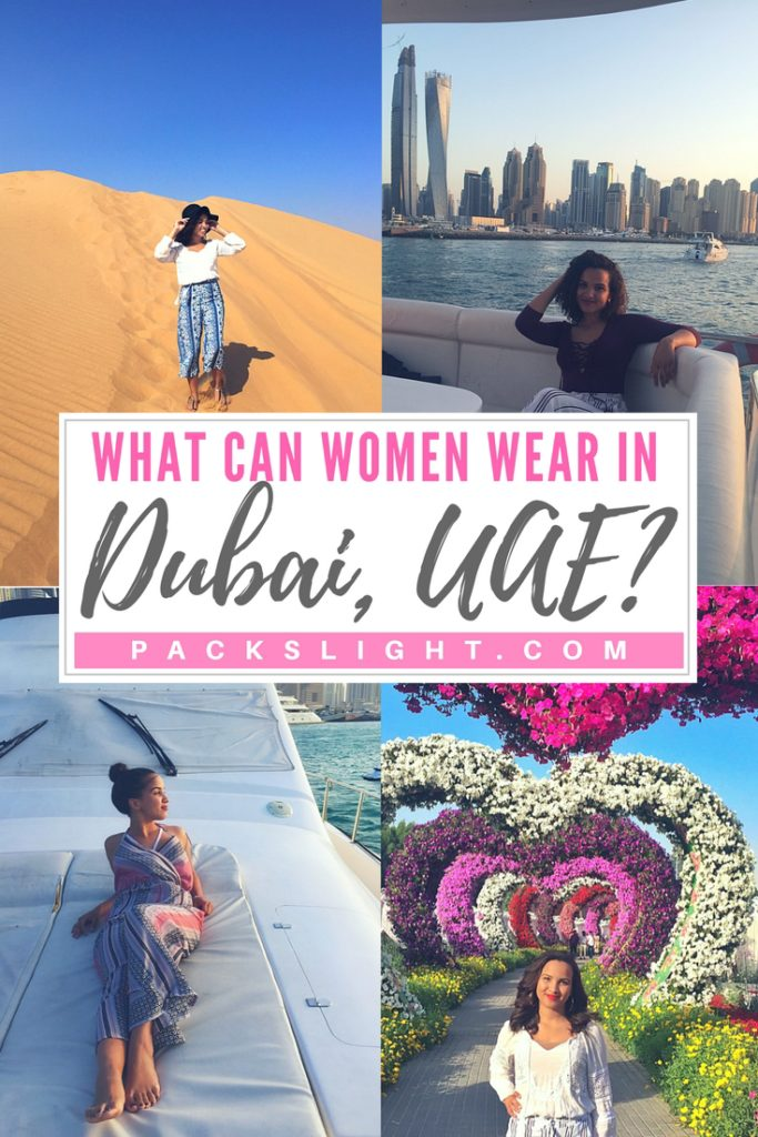 What can women actually wear in #Dubai? get advice from a Dubai expat on what to wear where, and when in this fabulous city! #DubaiDressCode #DubaiFashion #WomenWearDubai