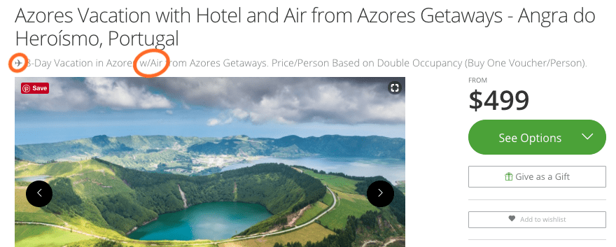 Azores Groupon Getaway Tips - Packs Light