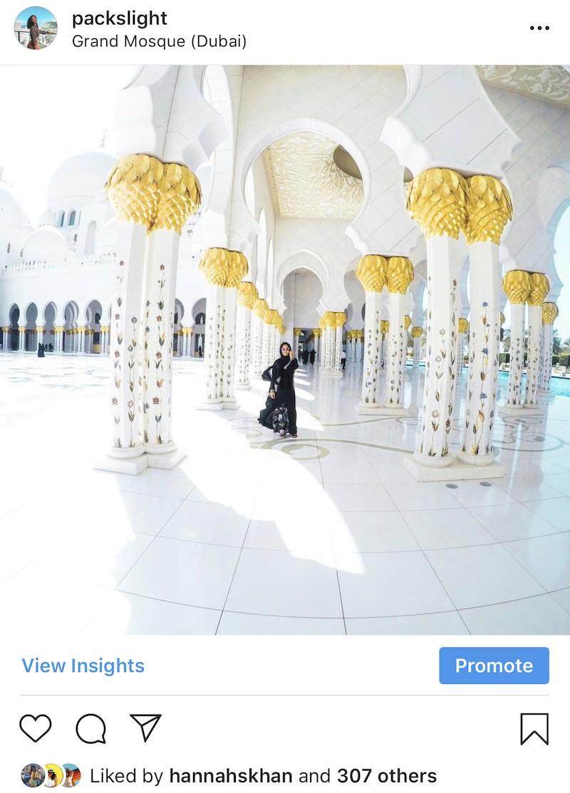 Instagram Study Abroad Abu Dhabi UAE