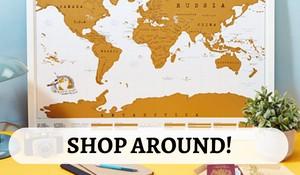 Shop Around Graphic | Packs Light
