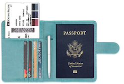 Shop RFID Passport Wallet | Packs Light