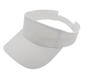 Shop White Visor | Packs Light