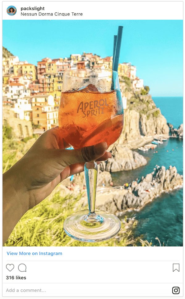 Italy Cinque Terre Nessun Dorma | Italy Itinerary | Packs Light