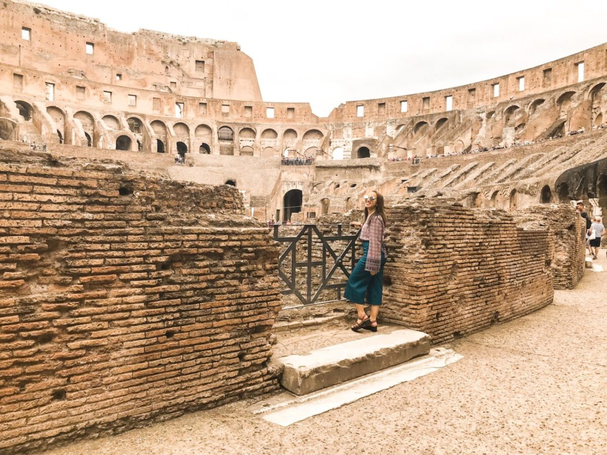 Rome Colessuem College Travel | Packs Light