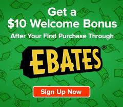 Join Ebates and get $10!