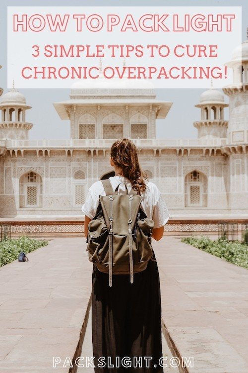 Are you a chronic #overpacker? Learn these 3 simple tips to only #pack what you need, and join team #carryon only!