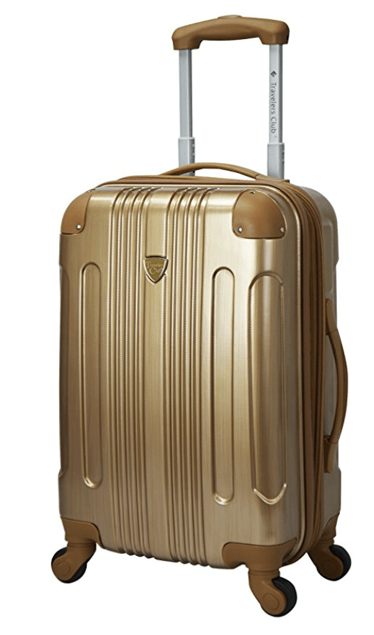 Suitcase Gold Amazon Carryon | Packing Light