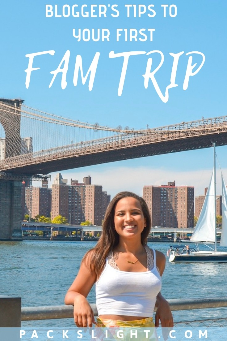 So you've been invited on your first FAM trip and want some guidance—congrats! Here are some basic tips to make sure it goes smoothly.  #blogging #blogs #travelblogs #presstrips #bloggingadvice