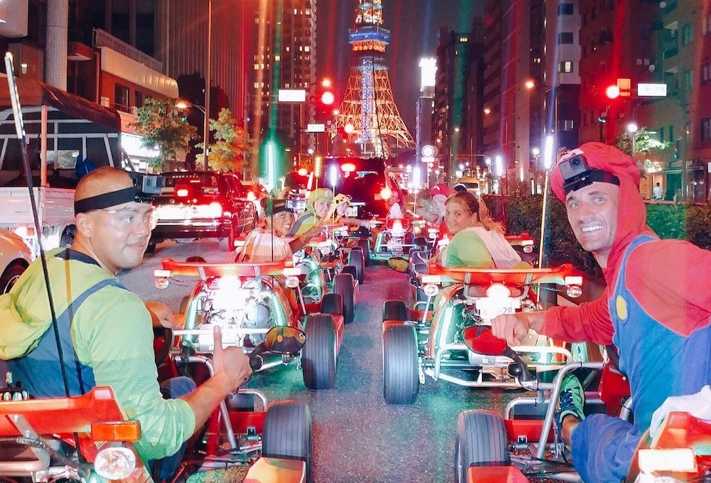 Japan Tokyo Mario Kart8 copy